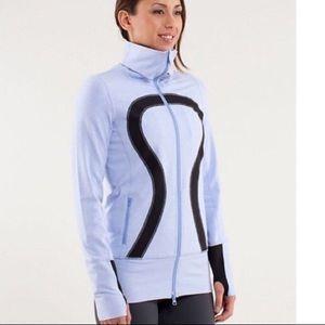 Lululemon blue zippered jacket